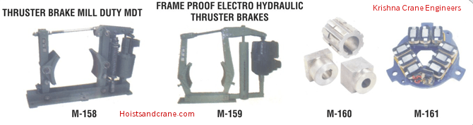 Thruster Brake Mill Duty MLT | Flame Proof Electro Hydraulic Thruster Brakes