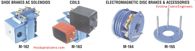 SHOE Brakes AC Solenoids | Coils | Electromagnetic Disc Brakes And Accessories